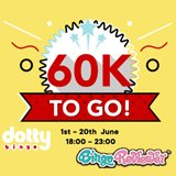 You'd Be Dotty to Miss the Guaranteed £60K Jackpot Games this June – Will You Be a Winner?