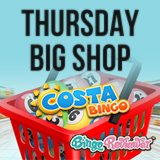 Win Groceries or a Treat for Yourself with the Costa Bingo Weekly Special