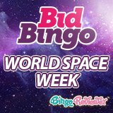 Enjoy World Space Week and Earn More Points At Bid Bingo