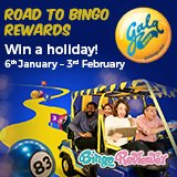 Win a holiday with Gala's Road to Rewards