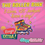 Skate Away Fabulous Rewards at Bingo Extra