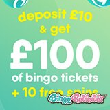 Where Can You Turn £10 into £100 of Bingo Tickets and Keep Everything You Win? Find Out Here
