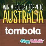 Win a holiday to Australia with Tombola!