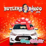 Win a Hyundai i20 at Butlers Bingo this Christmas!
