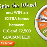 Spin your way to £2.5 K with Bingo Giving's new Sign up Offer