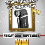 Win a HD Camcorder in tonights Sing Bingo Memorabilia Game