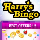 Harry's Bingo Slots, Chat games and a whopping deposit bonus