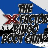 Join the X Factor Team Bingo Boot Camp at Sing Bingo