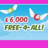 Free 4 All bingo at Shampoo Bingo - Non Funded Players Welcome!