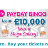Moon Bingo's £10,000 Payday Bingo Plays Tonight
