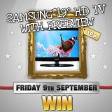 Win A Posh New TV to Watch the X Factor Tonight at Sing Bingo