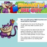 Summer in the City Tourney Offers 31 Prizes at City Bingo