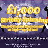 Strictly Spinning Tourney Offers £1000 in Prizes at 888Ladies Bingo