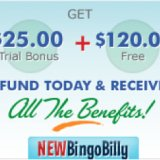 New Bingo Billy Celebrates 6th Birthday with $25 No Deposit Bonus