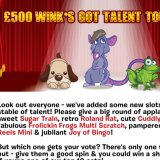 Wink's Got Talent Slots Tourney Offer 10 Cash Prizes