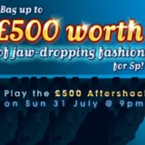 888Ladies Lay on a £500 Aftershock Fashion Fest