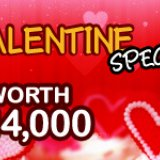 £14K Valentines Special at Golden Hat Bingo