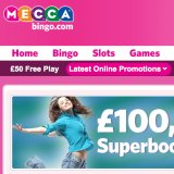 £100,000 Superbooks Games tonight at Mecca Bingo