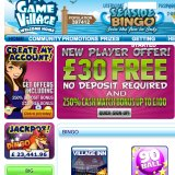 Game Village Triple Threat: including a £30 No Deposit Bonus
