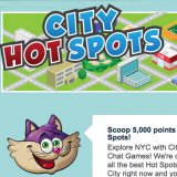 City Hot Spots Heat Up Team Bingo