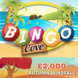 Bingo Cove Unveils Free Ticket Qualifiers for their £2,000 Autumn Windfall Game