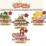 Hot Slots - 4 Tourney's Running at Polo Bingo