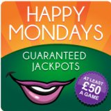 No More Monday Blues, Happy Mondays £50 Games arrive at XBingo