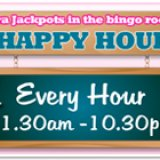 Cheers for the Happy Hour at Moon Bingo