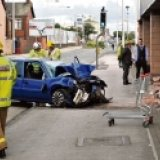 19-Year-Old Crashes into Bingo Club