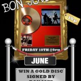 Sing Bingo Give Away Signed Bon Jovi Disc