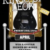 Win a Signed Kings of Leon Guitar at Sing Bingo