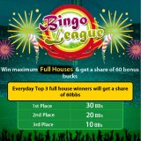 Join the Bingo League at Landmark Bingo