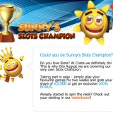 Sunny's Slots Championship Hots up with £3,500 in cash prizes