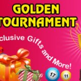 Golden Tournament now on at Golden Hat Bingo