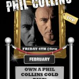 Win A Phil Collins Gold Disk at Sing Bingo Tonight