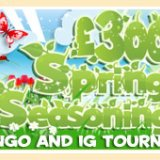 Join In WithTasty Bingo £300 Spring Seasoning Tourney