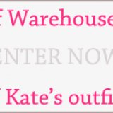 Win the Kate Middleton Competition and Get Warehouse Vouchers