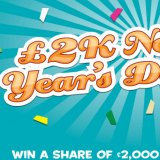 Start Collecting Free Tickets for Tasty Bingo's £2K New Year's Day