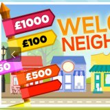 Spin the Bingo street signpost and claim up to £1000