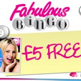 Fabulous Bingo's £5 No Deposit Bonus for Bingo-Reviewer Readers