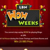 Win £25 Extra During Landmark bingo's WOW Week promotion