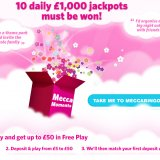 Mecca Bingo offer 10 chances to win £1000