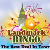 £15 Free Plus 750% Deposit Bonus at Landmark Bingo