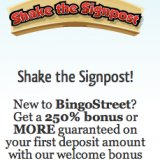 New Bingo Street Advert Shows off New Sign Up offer