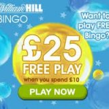 William Hill Bingo Live Free in 2012 Promotion