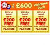 Bingon Bingo Welcome Pack Boosts £600 Deposit Boost