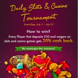 Gone Bingo Daily Slots and Casino Cash Back has landed