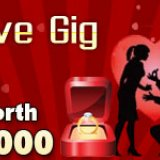 Join the Love Gig at Golden Hat Bingo