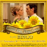 Eat Pray Love at Bingo Hollywood