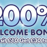 Sun Bingo Boost Sign Up Bonus to 200%
